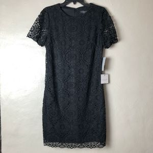 NWT Laundry Shelli Segal Lace Mini Dress Sz 10